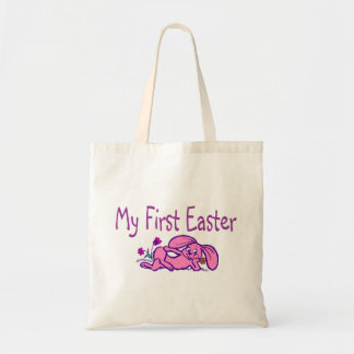 My First Easter Purple Easter Bunny Tote Bag