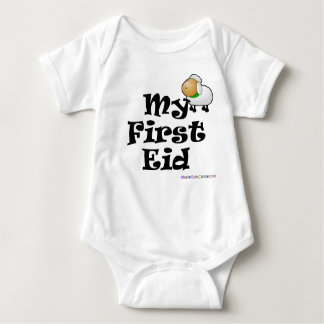 My First Eid - Eid ulAdha Baby Bodysuit