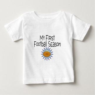 My First Football Season Football Tee Shirt
