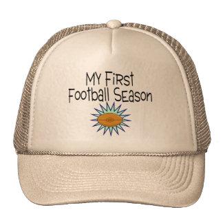 My First Football Season Football Trucker Hat