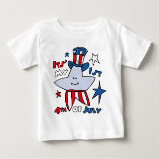 My First Fourth Star Baby T-Shirt