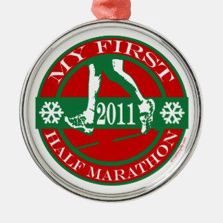 My First Half Marathon - 2011 Metal Ornament