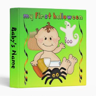 """My First Halloween 1"""" Binder"""