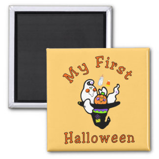 My First Halloween 2 Inch Square Magnet