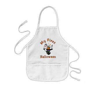 My First Halloween Kids' Apron