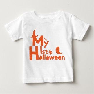 my first Halloween Baby Fine Jersey T-Shirt