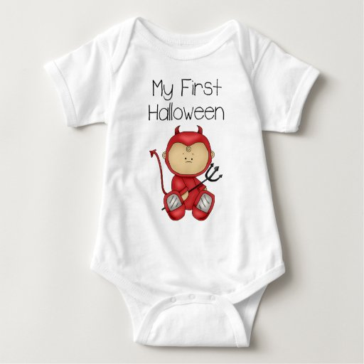 My First Halloween Boy #1 *Creeper* Baby Bodysuit