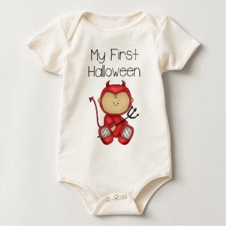 My First Halloween Boy #1 *Organic Creeper* Baby Creeper