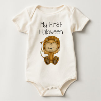 My First Halloween Boy #2 *Organic Creeper* Baby Bodysuit