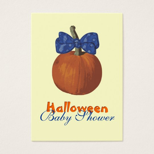 My First Halloween Business Card