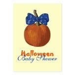 My First Halloween Business Card Templates