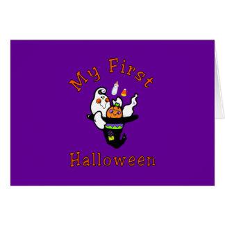 My First Halloween Card