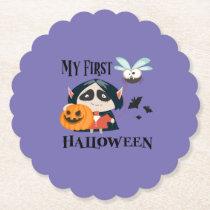 My First Halloween Coasters