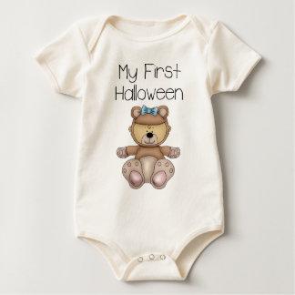 My First Halloween Girl #1 *Organic Creeper* Baby Bodysuit