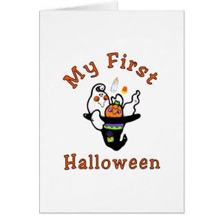 My First Halloween Greeting Card