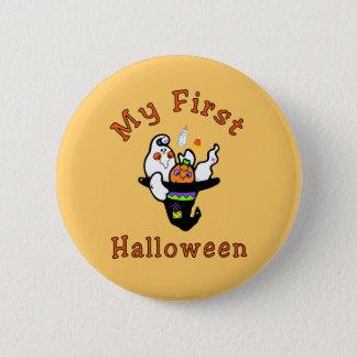 My First Halloween Pinback Button