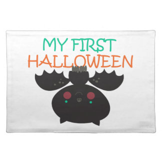MY FIRST HALLOWEEN CLOTH PLACEMAT