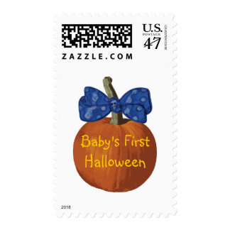 My First Halloween Postage