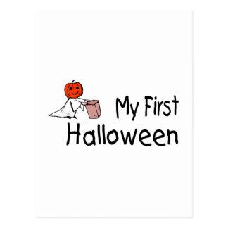 My First Halloween Post Card