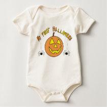 My First Halloween Pumpkin Baby's Bodysuit