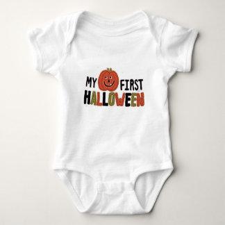 My First Halloween Pumpkin Infant Creeper