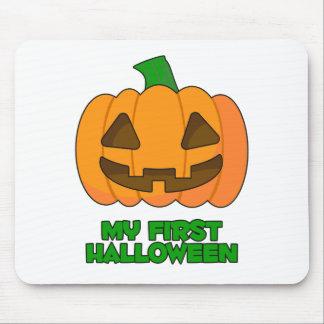 My First Halloween Pumpkin Mouse Pad