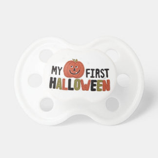 My first Halloween pumpkin Pacifier