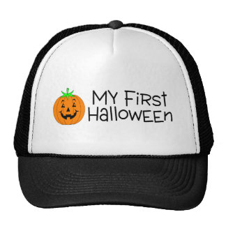 My First Halloween (Pumpkin) Trucker Hat