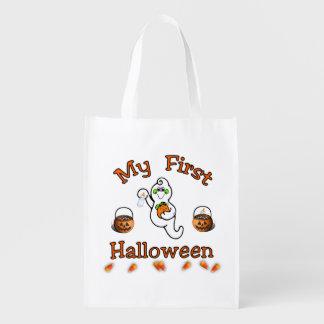 My First Halloween Reusable Grocery Bag