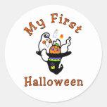 My First Halloween Sticker