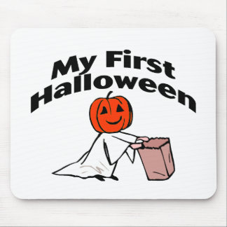 My First Halloween (Trick or Treat) Mouse Pad