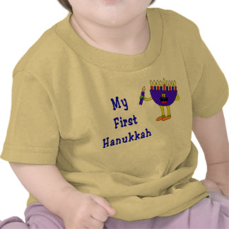 My First Hanukkah T-shirts