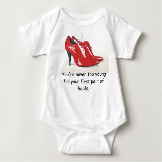 My First Heels Infant Creeper