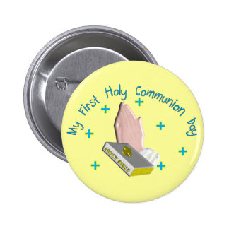 My First Holy Commmunion Day Gifts Button
