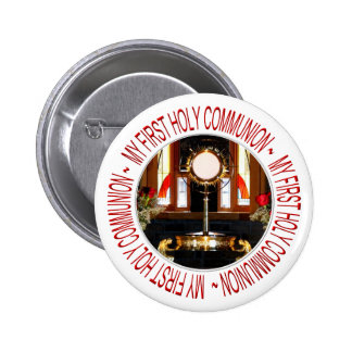 My First Holy Communion 2 Inch Round Button