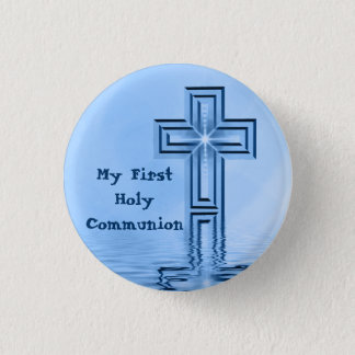 My First Holy Communion Button
