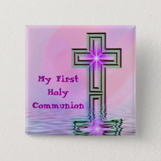 My First Holy Communion Button Pin