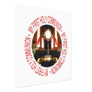 My First Holy Communion Canvas Print