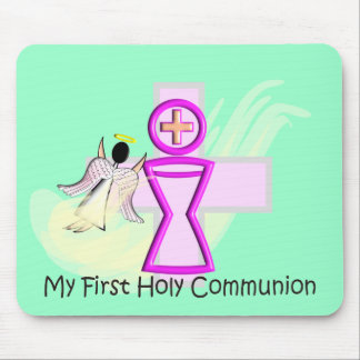 My First Holy Communion Chalice and Angel Mouse Pad