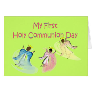 My First Holy Communion Day Gifts Card
