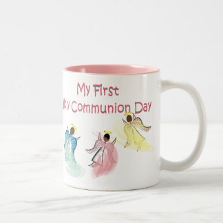 My First Holy Communion Day Gifts Two-Tone Coffee Mug