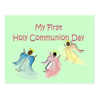 My First Holy Communion Day Postcard