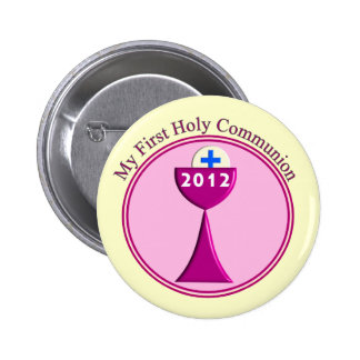 My First Holy Communion Gifts Pinback Button