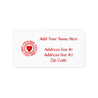 My First Holy Communion Label