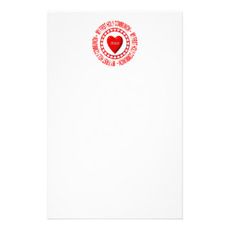 My First Holy Communion Stationery
