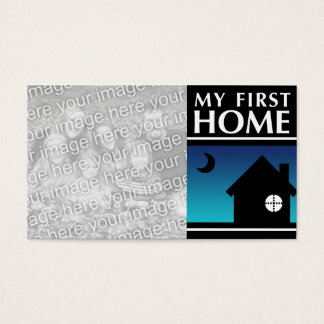 my first home (mod sunrise) business card