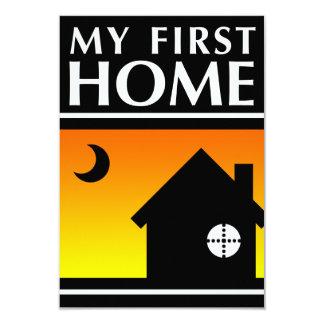 my first home (mod sunrise) card