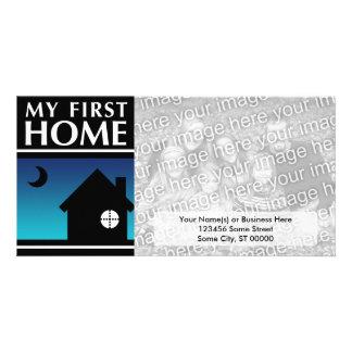 my first home (mod sunset) card