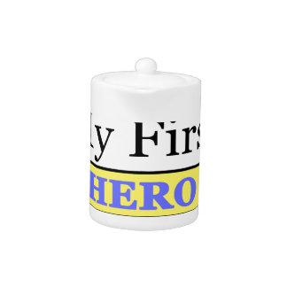 My First Love My First Hero Always My Dad Teapot