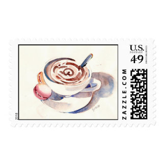 My First Macaron Postage Stamp